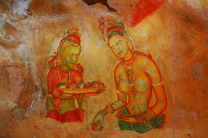 sigiriya apsara paintings
