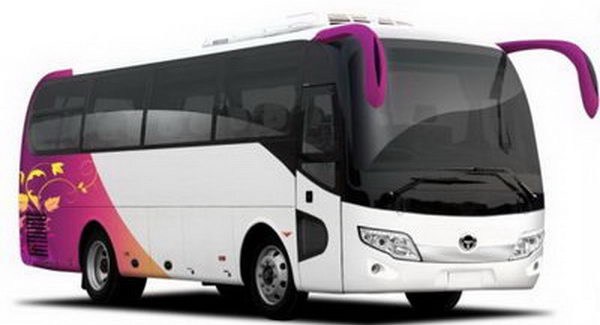 Charter luxury Bus