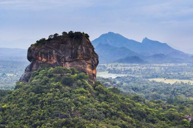 sigiriya rock fortress in the sky