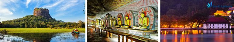sigiriya dambulla kandy temple of tooth