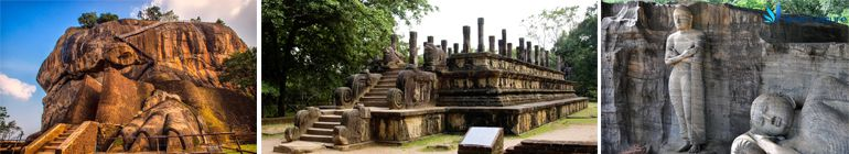 sightseeing tour of Sigiriya and Polonnaruwa