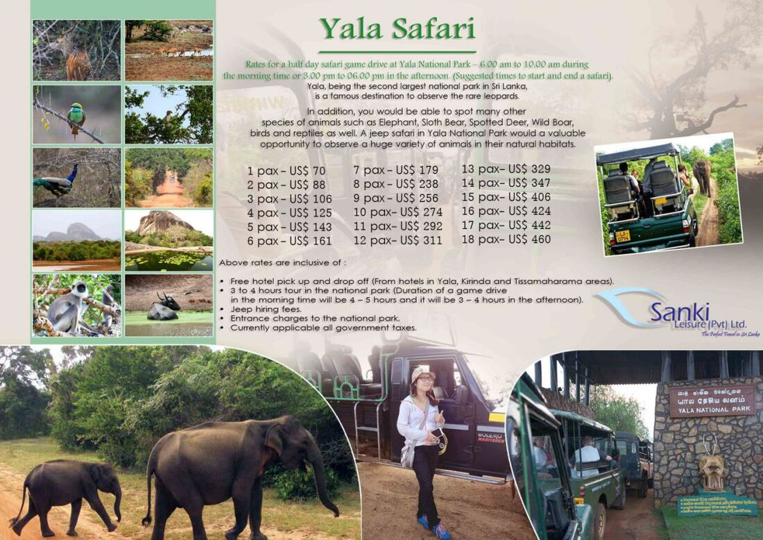 yala jeep safari cost